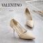 รองเท้าคัชชูส้นสูง STYLE VALENTINO (สีครีม) thumbnail 4