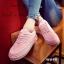 รองเท้าผ้าใบ Korea-style ผ้าแคนวาส (สีชมพู ) thumbnail 2