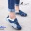 รองเท้าผ้าใบผู้หญิง สไตล์สปอร์ตเกิร์ล (สีน้ำเงิน ) thumbnail 2
