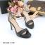 รองเท้าส้นสูงสีดำ คัชชูส้นเข็ม สูง 4 นิ้ว thumbnail 3