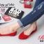 รองเท้าคัชชู สไตล์แบรนด์ZARA หนังกำมะหยี่นิ่ม (สีแดง ) thumbnail 2