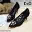 รองเท้าคัทชูส้นสูง DOLCE&GABBANA (สีดำา) thumbnail 6
