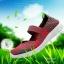 รองเท้าผ้าใบแฟชั่น ผ้ายืดสาน พื้นหักงอได้ (สีชมพูเข็ม ) thumbnail 5