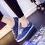 รองเท้าผ้าใบ สไตล์KedsStyle (สีน้ำเงิน ) thumbnail 3