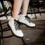 รองเท้าบูทสไตล์เท่ห์ แนววินเทจ (สีขาว) thumbnail 6