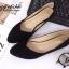 รองเท้าคัชชู สไตล์แบรนด์ZARA หนังกำมะหยี่นิ่ม (สีดำ ) thumbnail 2