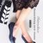 รองเท้าคัทชูส้นเตี้ย หัวตัด บุนวม (สีน้ำเงิน ) thumbnail 1