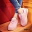 รองเท้าผ้าใบ Korea-style ผ้าแคนวาส (สีชมพู ) thumbnail 5