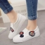 รองเท้าผ้าใบสไตล์ลำลอง ทรงสวม (สีขาว) thumbnail 5