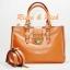 กระเป๋าหนังแท้ Ferlento - Brown thumbnail 1