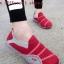 รองเท้าผ้าใบผู้หญิง สไตล์สปอร์ตเกิร์ล (สีแดง )