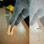 รองเท้าส้นเตี้ย รัดส้น หน้าสาน (สีครีม ) thumbnail 3
