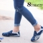 รองเท้าผ้าใบผู้หญิง สไตล์สปอร์ตเกิร์ล (สีน้ำเงิน ) thumbnail 3