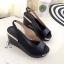 รองเท้าเตารีดแบบรัดส้น เปิดหน้า (สีดำ ) thumbnail 3