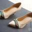 รองเท้าคัทชูส้นสูง หัวแหลม (สีแอปปริคอท ) thumbnail 2
