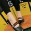 รองเท้าคัทชูส้นเตี้ย สไตล์Gucci (สีดำ ) thumbnail 2