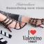 รองเท้าส้นสูง ทรงส้นเข็มรัดข้อ สไตล์ valentino (สีดำ) thumbnail 6