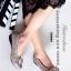 รองเท้าคัทชูส้นเตี้ย หัวตัด บุนวม (สีกากี )