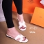รองเท้าแตะส้นเตี้ย สไตล์H (สีขาว ) thumbnail 2