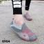 รองเท้าผ้าใบผู้หญิง สไตล์สปอร์ตเกิร์ล (สีเทา ) thumbnail 4