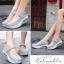 รองเท้าคัชชูสุขภาพ สไตล์สปอร์ต (สีเทา ) thumbnail 3
