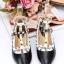 รองเท้าคัทชูสีดำ VALENTINO WATERCOLOR ROCKSTUD Flat Shoes งานหมุดวาเลนเกรดดี รัดข้อเท้าการันตีด้วยภาพถ่ายสินค้าจริงค่า แกะแบบของแท้ วัสดุหนังpuส้นแบนสายแบบเกี่ยวปรับได้ thumbnail 1
