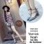 รองเท้าคัทชูส้นสูง รัดข้อ ทรงสุภาพ (สีเทา ) thumbnail 4