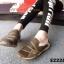 รองเท้าผ้าใบผู้หญิง สไตล์สปอร์ตเกิร์ล (สีน้ำตาล ) thumbnail 4