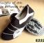 รองเท้าผ้าใบผู้หญิง สไตล์สปอร์ตเกิร์ล (สีดำ ) thumbnail 2