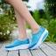 รองเท้าผ้าใบเสริมส้น Sport Girl (สีฟ้า ) thumbnail 3