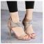 รองเท้าส้นสูง สไตล์แบรนด์ Jimmy Choo(สีแอปริคอท) thumbnail 2