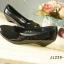 รองเท้าคัทชูหัวมน งานหนังแก้ว (สีดำ ) thumbnail 4