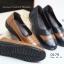 รองเท้าคัทชูเพื่อสุขภาพ สีทูโทน หนังเย็บ (สีน้ำตาล ) thumbnail 4