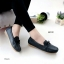 รองเท้าหุ้มส้นผู้หญิง สไตล์Loafer (สีดำ ) thumbnail 3