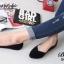 รองเท้าคัชชู สไตล์แบรนด์ZARA หนังกำมะหยี่นิ่ม (สีดำ ) thumbnail 5