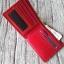 กระเป๋าสตางค์ชาย รุ่น Boss สีแดง thumbnail 5