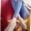 รองเท้าผ้าใบ สไตล์Dr.matens หนังนิ่ม (สีกากี ) thumbnail 4