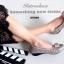 รองเท้าคัทชูส้นเตี้ย หัวตัด บุนวม (สีกากี ) thumbnail 3