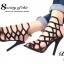 รองเท้าส้นสูง สไตล์Schuts (สีดำ) thumbnail 3