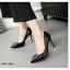 รองเท้าคัทชูส้นสูง หนังแก้ว (สีครีม ) thumbnail 2
