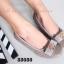 รองเท้าคัทชูส้นเตี้ย หัวตัด บุนวม (สีกากี ) thumbnail 5