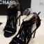 รองเท้าส้นสูงสไตล์แบรนด์ JIMMY CHOO (สีดำ)