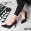 รองเท้าคัทชูส้นสูง หัวแหลม (สีดำ ) thumbnail 3
