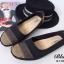 รองเท้าคัชชู สไตล์สุขภาพ หนังนิ่ม (สีดำ ) thumbnail 3