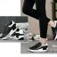 รองเท้าผ้าใบสีดำ ทรงสปอร์ต สูง 2 นิ้ว ซับใบนิ่ม thumbnail 4