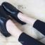 รองเท้าคัทชูเพื่อสุภาพ สไตล์สปอร์เกิร์ล (สีดำ ) thumbnail 3
