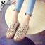 รองเท้าผ้าใบ สไตล์Dr.matens หนังนิ่ม (สีกากี ) thumbnail 3