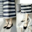 รองเท้าคัชชู หนังแก้วนิ่ม (สีดำ) thumbnail 4