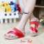 รองเท้าส้นเตารีด แบบสวมนิ้วโป้ง สไตล์fitflop (สีแดง ) thumbnail 4
