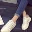 รองเท้าผ้าใบผู้หญิง แบบเชือกผูก (สีเทา) thumbnail 1